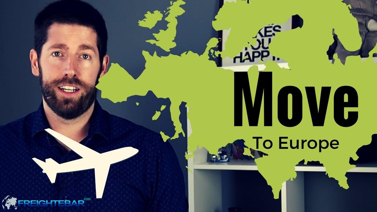 ارسال بار و محموله به تمام نقاط اروپا