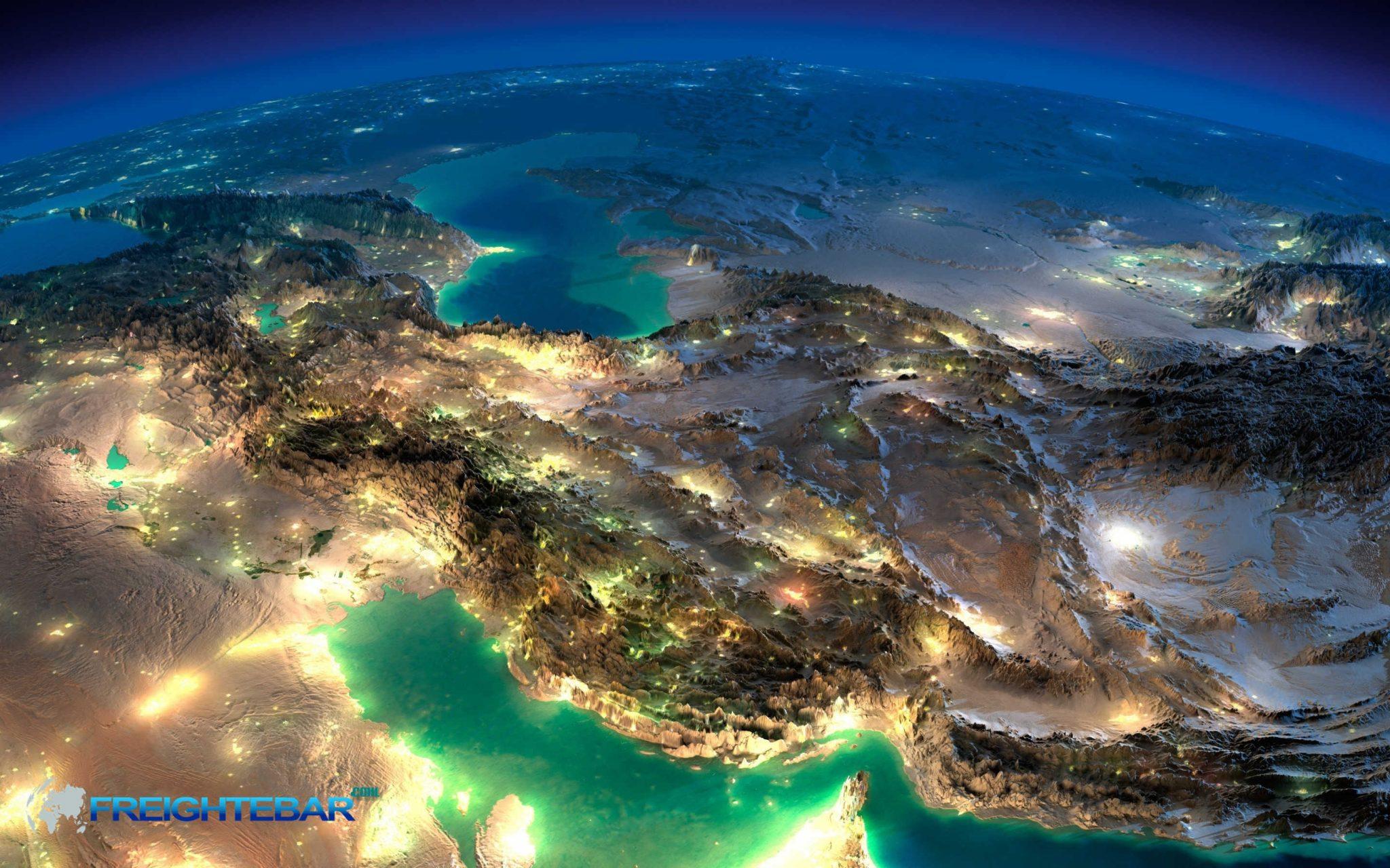 فریت بار به کشورهای خلیج فارس